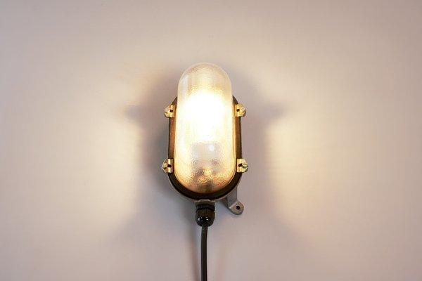 Industrielle Petite Lampe Murale De Turtle Vintage Eow 80PwOnkX