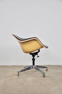 Ray Herman Bureau De Chaise Cuir Pour Eames Miller1970s Par En Charlesamp; PnN8wvm0yO