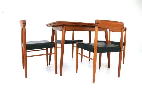 En Mid Forme Extensible Teck De Century BâteauDanemark1960s Table N8kX0OPnw