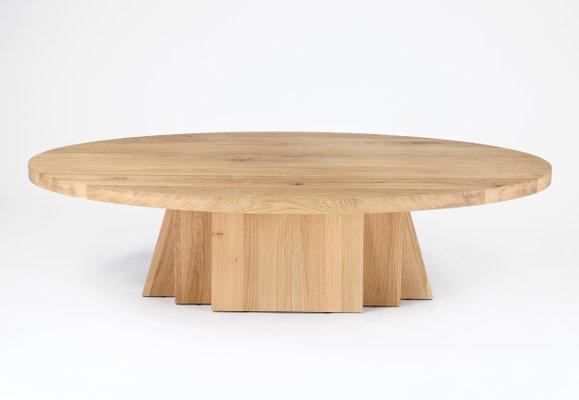 Merveilleux Low Oval Coffee Table By Rose Uniacke