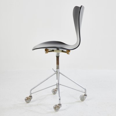3117 Office Chair By Arne Jacobsen 1980s 2