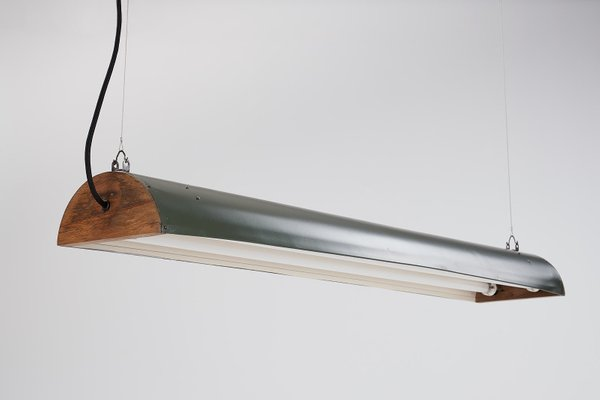 Vintage Fluorescent Lighting Fixture By Paul Mrosek