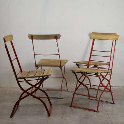 Astonishing Vintage Outdoor Chairs 1900S Set Of 4 Download Free Architecture Designs Embacsunscenecom