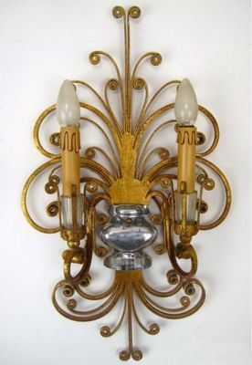 Vintage Wall Sconces Set Of 2 For