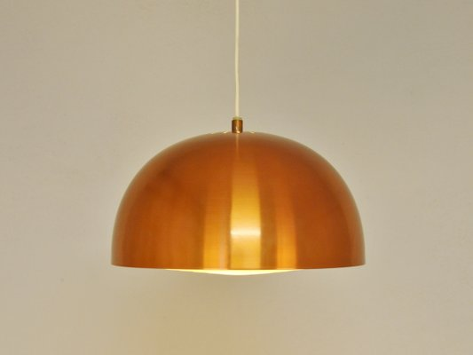 Scandinavian Vintage Copper Pendant Lamp 1960s 6