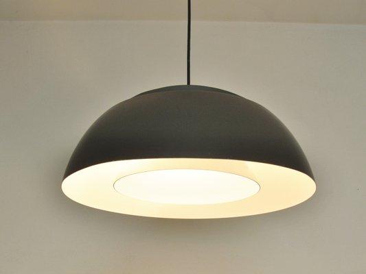 Brown AJ Royal Lamp by Arne Jacobsen for Louis Poulsen