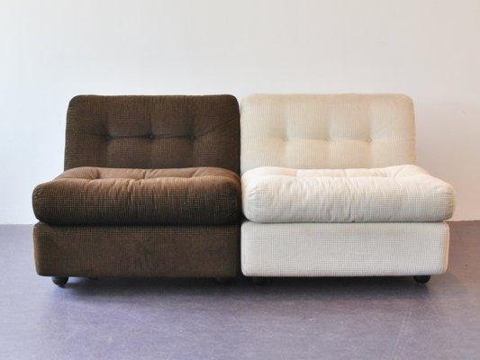 Amanta Easy Chairs By Mario Bellini For Bu0026B Italia, ...