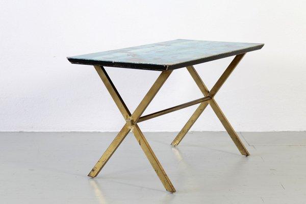 Table Peinte Par Atelier Fornasetti Italie 1950s En Vente Sur Pamono