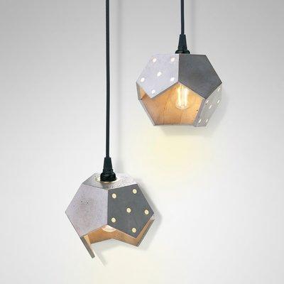 Superieur Basic TWELVE Duo Concrete Pendant Lamp From Plato Design