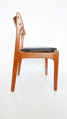 Mid Century Danish Teak Dining Chairs By Erik Buch 1960s Set Of 4 For Sale At Pamono