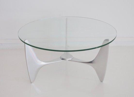 Le Cadre Socle Table En Basse Sur Avec Aluminium Vintage sBtorCQhdx