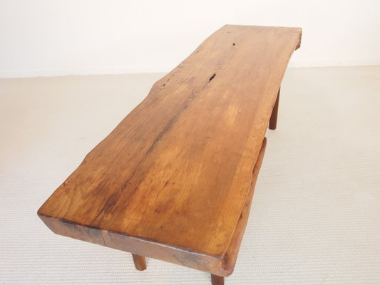 Mid Century Wooden Slab Coffee Table From Reynolds Of Ludlow 5
