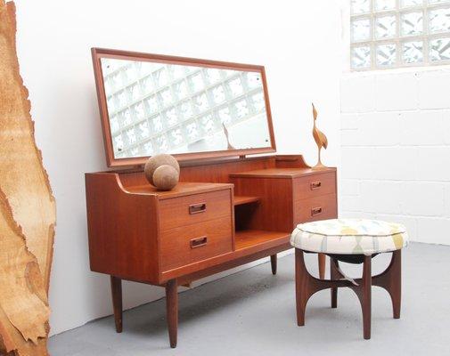 Mid Century Teak Dressing Table 1950s 3