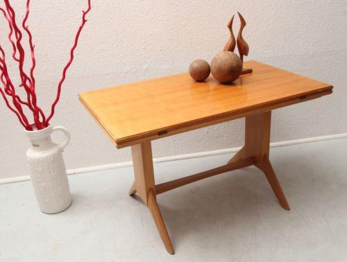 Mid Century Cherry Wood Coffee Table From Wilhelm Renz, 1950s