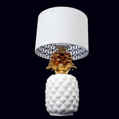 Lampe Ananas Vintage En Ceramique En Vente Sur Pamono