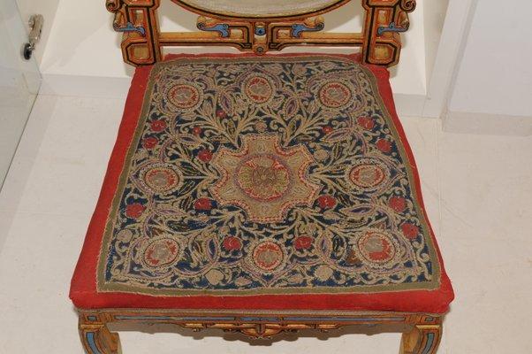 Antique Tibetan Side Chair 3