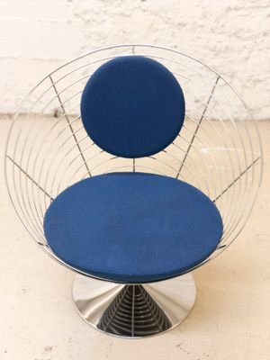 Wire Cone Chair by Verner Panton for Fritz Hansen, 1988