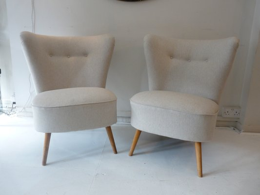 Bon French Cocktail Chairs, 1960s, Set Of 2