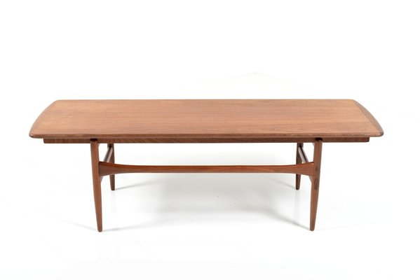 Coffee Table Extendable.Extendable Teak And Formica Coffee Table 1950s