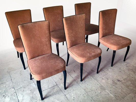 Mobili Anni 50 : Sedie da pranzo di velluto di vittorio dassi per dassi mobili