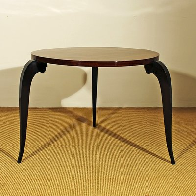 Vintage Round Side Table, 1940s 1