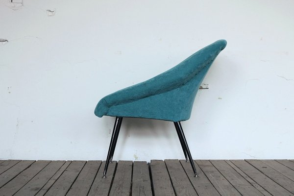 Turquoise Space Age Armchair For Sale At Pamono