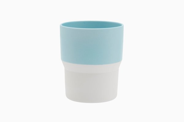 Colour Porcelain: Mug in Blue and White by Scholten & Baijings