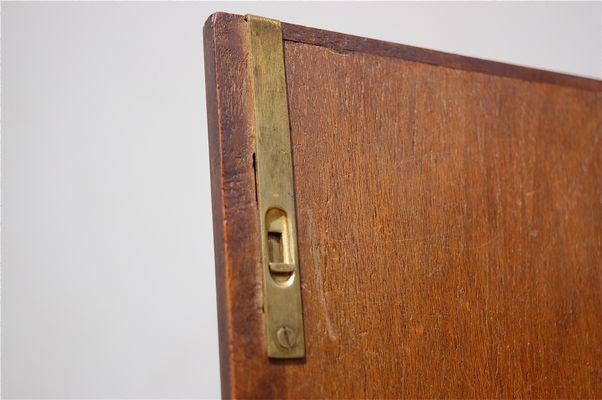 English Burr Walnut Cabinet, 1900s 4