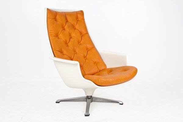 Pleasant Vintage Scandinavian Modern Swivel Lounge Chair Creativecarmelina Interior Chair Design Creativecarmelinacom