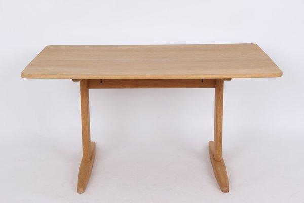 Charmant Table De Salle à Manger Shaker Vintage En Chêne Massif Par Borge Mogensen  Pour C.M. Madsen