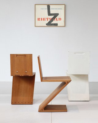 Zig Zag Chair By Gerrit Rietveld For Sale At Pamono