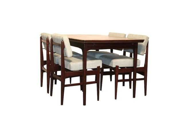 Dining Room Set by Louis van Teeffelen for Wébé 1950s 1  sc 1 st  Pamono & Dining Room Set by Louis van Teeffelen for Wébé 1950s for sale at ...