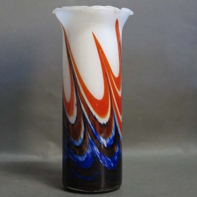 Large Vintage Murano Glass Vase 1970s For Sale At Pamono