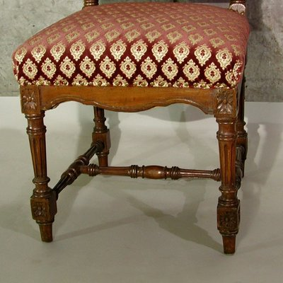 Wondrous Antique Carved Wood Side Chair Ibusinesslaw Wood Chair Design Ideas Ibusinesslaworg