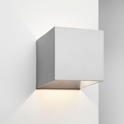 Lampada da parete Cromia grigia chiara di Plato Design in vendita su ...