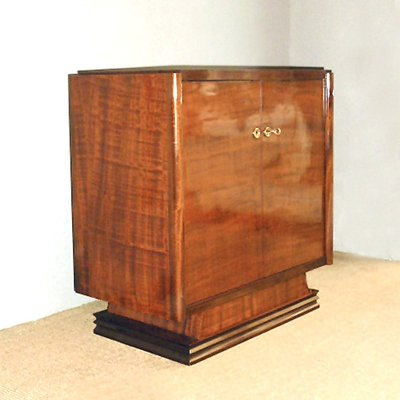Delicieux Small Cocktail Cabinet, France, 1940s 2
