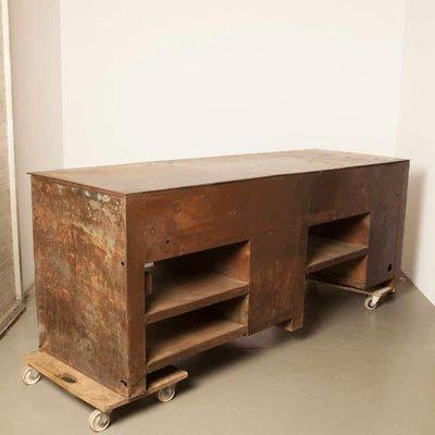 Incredible Industrial Dutch Steel Workbench 1950S Andrewgaddart Wooden Chair Designs For Living Room Andrewgaddartcom