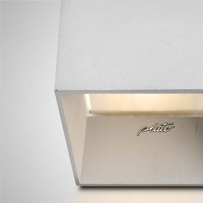 the best attitude e5ca4 56d87 Cromia Wall Lamp in Light Grey from Plato Design
