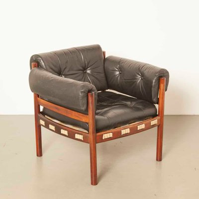Black Armchair From Coja, 1960s