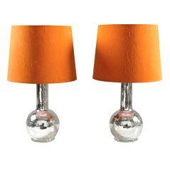 Lampes de Bureau Miroir Cassé de Luxus, Set de 2