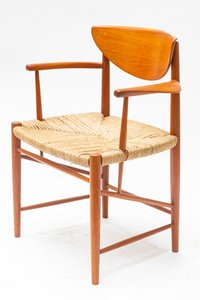 Mid-Century Teak Dining Chairs by Peter Hvidt & Orla Mølgaard-Nielsen for Søborg Møbelfabrik, Set of 2