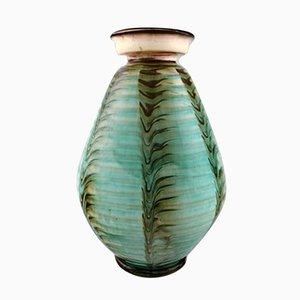 Vintage Glazed Stoneware Vase from Kähler