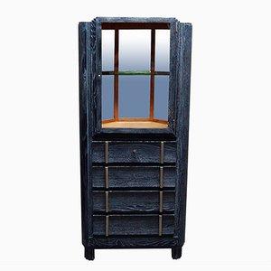 Art Deco Corner Cabinet