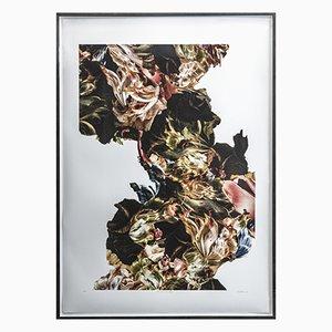 Renata Kudlacek, The Quest to Bloom, 2021, Vierfarbiger Siebdruck