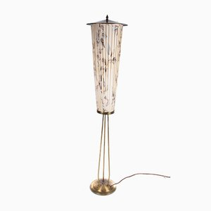 German Lantern Floor Lamp, 1960s