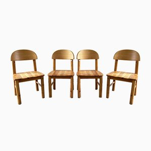 Pine Chairs by Rainer Daumiller, Set of 4