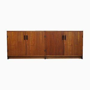 Maßgefertigtes Teak Furnier Sideboard von Cees Braakman für Pastoe, 1970er