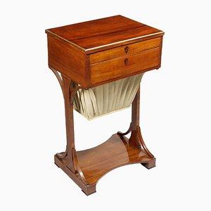 Deutscher Biedermeier Tisch aus Mahagoni, 1820er, 19. Jh