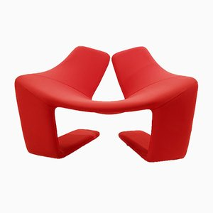 Zen Lounge Chair by Kwok Hoi Chan for Steiner, Paris, 1968