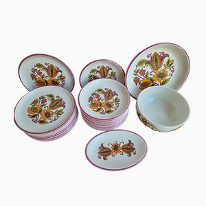 Table Service Set from Boch Belgium Bali, Set of 27